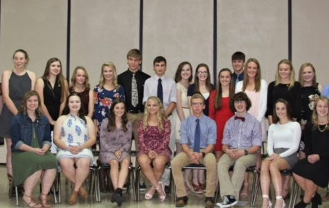 NHS inducts new members