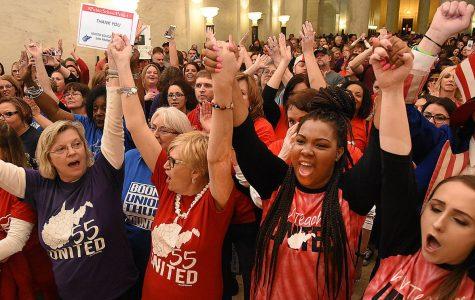 West Virginia's Teachers on Strike for Nine Days