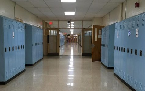 Junior Hall awaits for the decorations for the Comics theme.