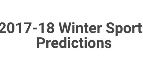 2017-18 PIHS Winter Sports Team Predictions