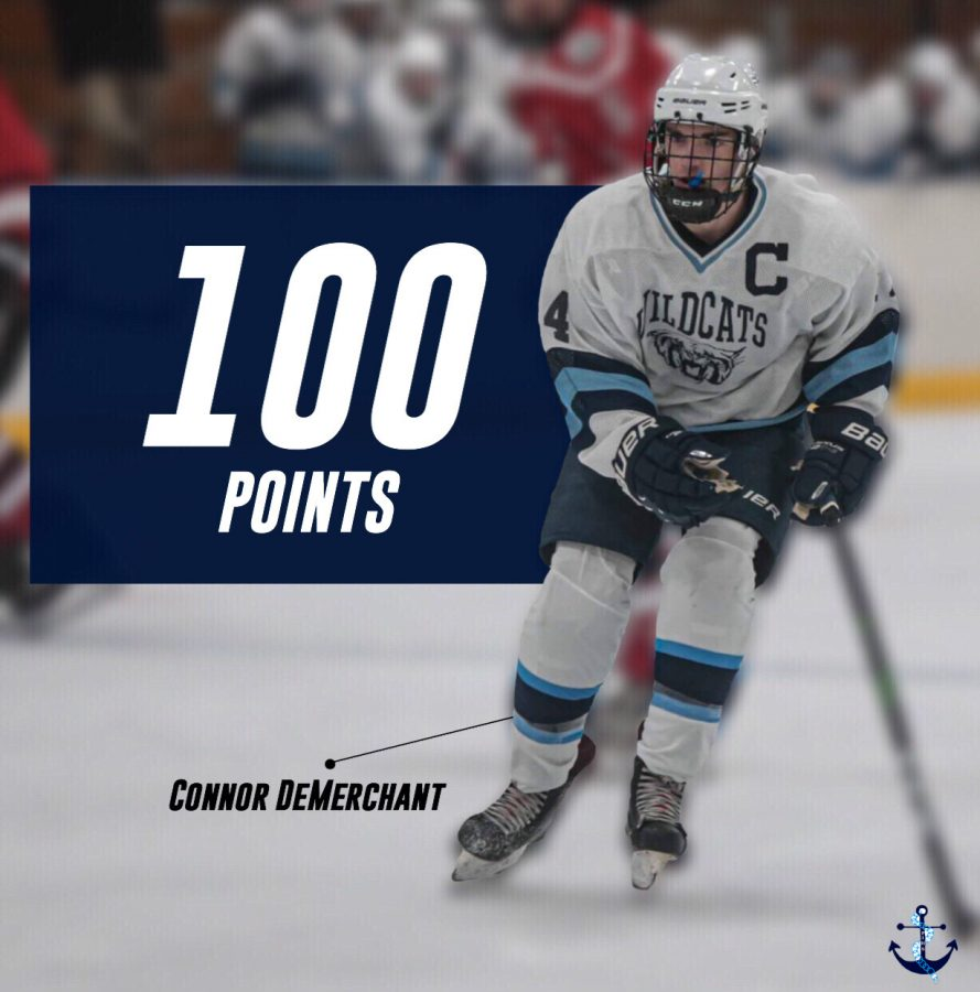 Demerchant+joins+former+teammates+Thomas+Patenaude+and+Jake+Stevens%2C+as+well+as+Assistant+Coach+Darren+Carlisle+in+the+100+point+club+