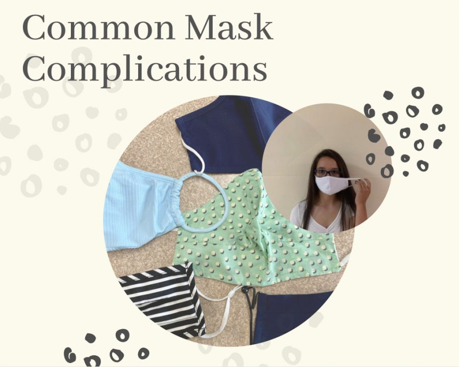 Mask requirements are similar throughout schools across the nation. While wearing masks, it is common to have small difficulties.