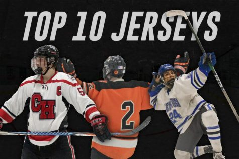 Despite having nine more teams, only four of the ten jerseys on this list come from Class B schools, which signifies that they have to step their game up.