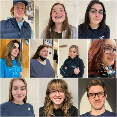 "Students flaunt their facial characteristics that have gone unnoticed for so long. ""I got my nose piercing to show friends and peers, so I am glad to have the chance now,"" said Hailey Marquis '22."
