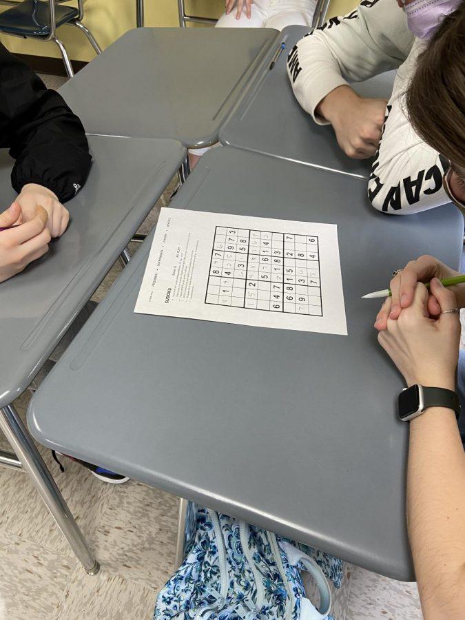 Sudoku- Mrs. LaPointe- April 9, 2021